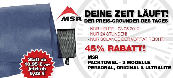 MSR Packtowel Handtuch