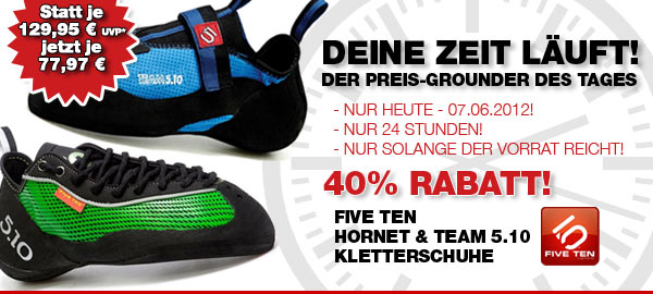 FIVE TEN Hornet & Team 5.1 Kletterschuhe