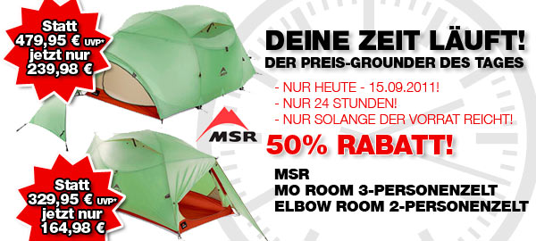 MSR Zelte